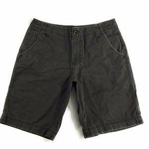 Mossimo Supply Co. Mens Gray Flat Front Shorts 34